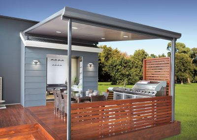 barbeque area roof awning