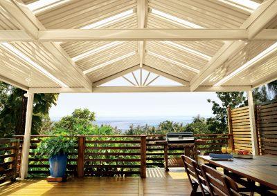 Modern Patio Roof Colourbond