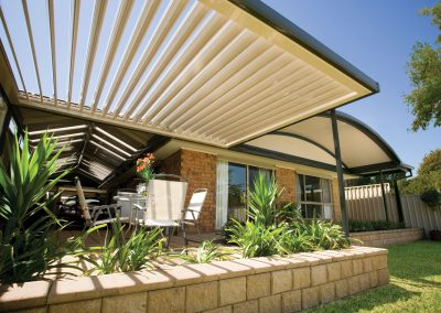 Round Patio Awning Roof