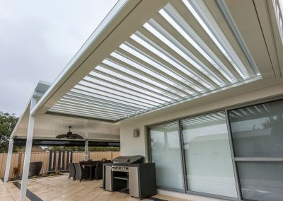 BBQ Area roof system
