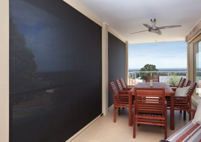 Deck blinds installed Penrith and Blue Mountains