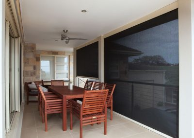 Blockout awning blinds blue mountains
